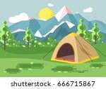 stock vector illustration... | Shutterstock .eps vector #666715867
