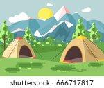 stock vector illustration... | Shutterstock .eps vector #666717817