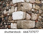 Corner Of A Brick And Stone Wall