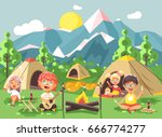 stock vector illustration... | Shutterstock .eps vector #666774277