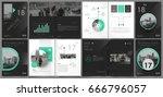 abstract binder art. white a4... | Shutterstock .eps vector #666796057