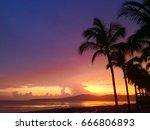 beach sunset   puerto vallarta  ... | Shutterstock . vector #666806893