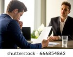 skilled successful human... | Shutterstock . vector #666854863