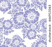 abstract elegance seamless... | Shutterstock .eps vector #666913363