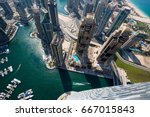 Dubai Skyscrapers From Above....