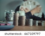 limit finance and investment... | Shutterstock . vector #667109797