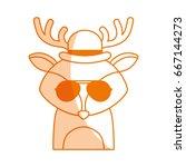 Animal Reindeer Cartoon
