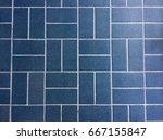 Blue Wire Tile Floor Tile