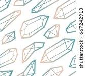 abstract modern seamless... | Shutterstock .eps vector #667242913