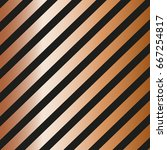 gold diagonal lines pattern on... | Shutterstock .eps vector #667254817
