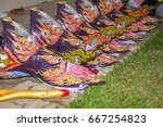 thailand june 25  phitakhon... | Shutterstock . vector #667254823