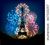 Bastille Day Fireworks In...