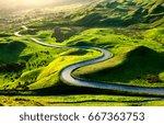 Alpine Road Bend