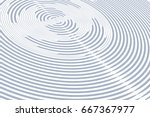 circular rotation lines.... | Shutterstock .eps vector #667367977