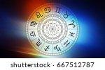 zodiac astrology signs for... | Shutterstock . vector #667512787