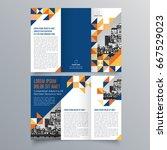 brochure design  brochure... | Shutterstock .eps vector #667529023