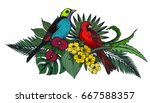 vector composition of colorful... | Shutterstock .eps vector #667588357