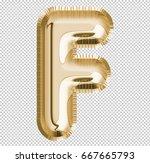 brilliant letter alphabet f... | Shutterstock . vector #667665793