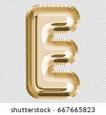 brilliant letter alphabet e... | Shutterstock . vector #667665823