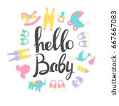 Baby Shower Cards. Hello Baby....