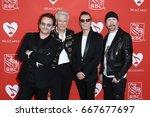 new york jun 26   l r  bono ... | Shutterstock . vector #667677697