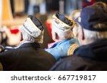 u.s. veterans armando 'chick'... | Shutterstock . vector #667719817