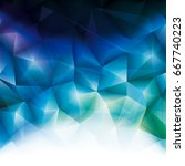 abstract polygonal background. | Shutterstock . vector #667740223
