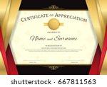 Luxury Certificate Template...