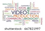 video production word tag cloud....