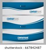 banner template. horizontal... | Shutterstock .eps vector #667842487