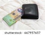 vietnamese currency dong... | Shutterstock . vector #667957657
