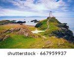 lighthouse on llanddwyn island...