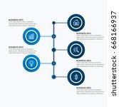 popular infographics elements | Shutterstock .eps vector #668166937