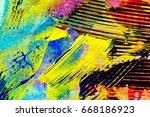 closeup shot of abstract hand... | Shutterstock . vector #668186923