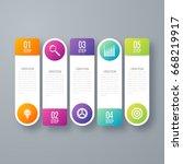 vector illustration infographic ... | Shutterstock .eps vector #668219917
