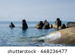 lamai beach  koh samui  thailand | Shutterstock . vector #668236477