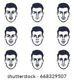 vector graphic illustration   a ... | Shutterstock .eps vector #668329507