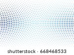 light blue vector illustration... | Shutterstock .eps vector #668468533