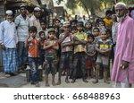 teknaf  bangladesh   april 1 ... | Shutterstock . vector #668488963