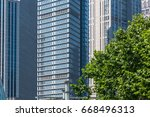 detail shot of modern... | Shutterstock . vector #668496313