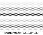 abstract halftone dotted... | Shutterstock .eps vector #668604037