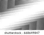 halftone dots texture. creative ... | Shutterstock .eps vector #668649847