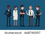 creative police department... | Shutterstock .eps vector #668740507