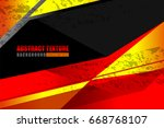 geometric abstract backgrounds... | Shutterstock .eps vector #668768107
