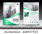 annual report brochure flyer... | Shutterstock .eps vector #668937553