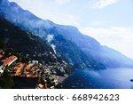 sorrento  salerno  italy | Shutterstock . vector #668942623