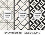 abstract concept vector... | Shutterstock .eps vector #668992243
