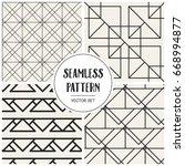 abstract concept vector... | Shutterstock .eps vector #668994877