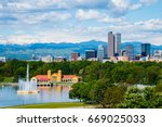 Denver Colorado Downtown City Park - Fine Art prints