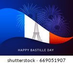 illustration card banner or... | Shutterstock .eps vector #669051907